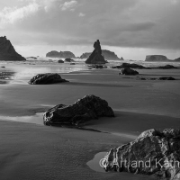 Storm Clouds at Bandon Beach