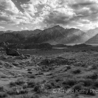 Alabama Hills Afternoon Rays