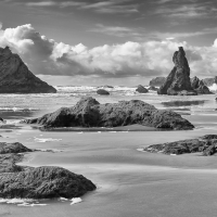 Cloudy Afternoon Bandon Beach