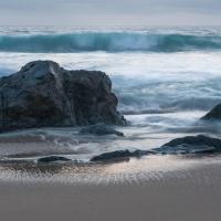 Garrapata Beach at Dusk