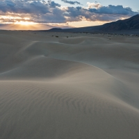 Mesquite Dunes Morning Rays