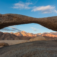 Mount Whitney thru Lathe Arch