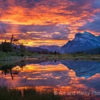 Vermillion Lake Sunrise
