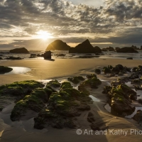 Bandon Beach Sunset 1, Oregon