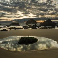Bandon Beach Sunset 2, Oregon