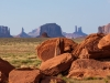 Boulders, Monument Valley
